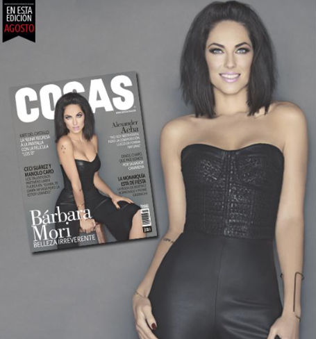 Bárbara Mori en Revista Cosas
