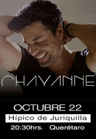 Chayanne en Juriquilla Querétaro