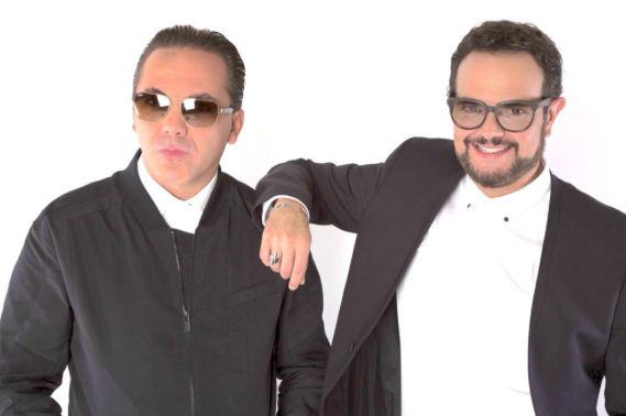 Cristian Castro y Aleks Syntek