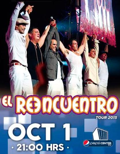 El Reencuentro en Pepsi Center 1 de Octubre
