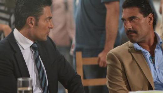 Fernando Colunga y Eduardo Yañez en Ladrones
