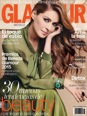 Galilea Montijo en Glamour