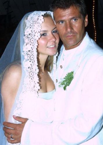 Hector Soberón y Michelle Vieth