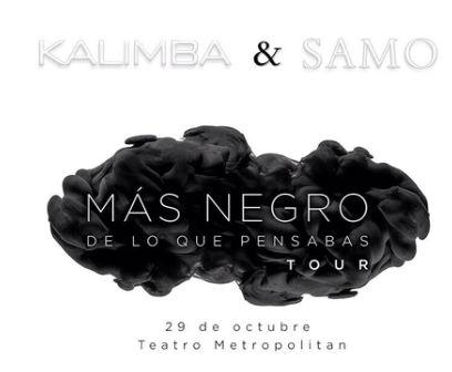 Kalimba y Samo en Metropolitan