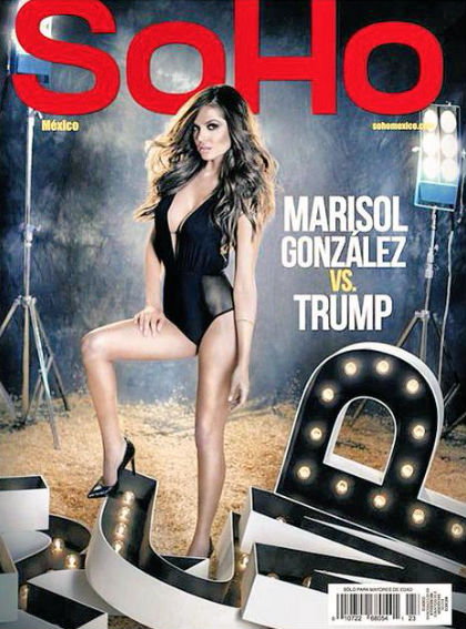 Marisol González en revista SoHo