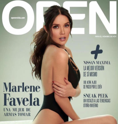 Marlene Favela en Open
