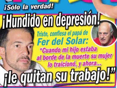 Papá de Fernando del Solar  confirma que Ingrid Coronado fue infiel con Poncho de Anda