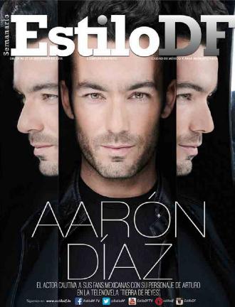Aarón Díaz en Revista Estilo DF