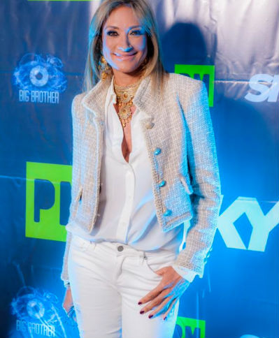 Adela Micha conductora de Big Brother
