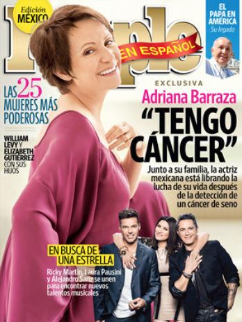 Adriana Barraza revela lucha contra cáncer