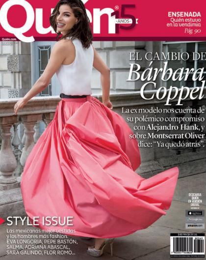 Bárbara Coppel en Revista Quién
