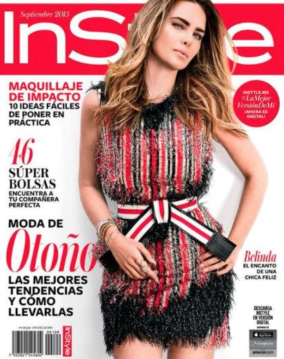 Belinda en Revista InStyle