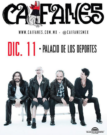 Caifanes en Palacio de los Deportes 11 de diciembre