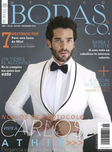 Carlos Athié en Revista Bodas