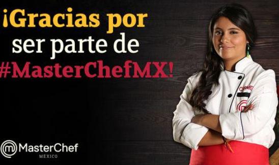 Carmen de Master Chef México