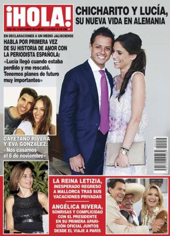 Chicharito confirma romance con Lucia