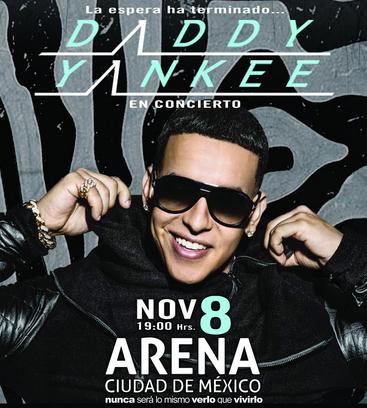Daddy Yankee en Arena Ciudad de México