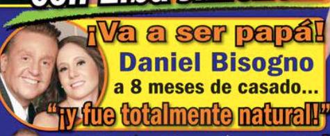 Daniel Bisogno será papá