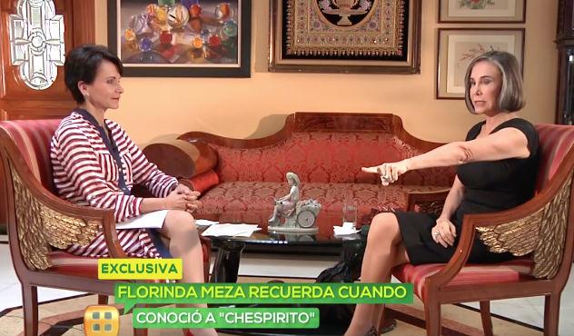 Florinda Meza y Paty Chapoy