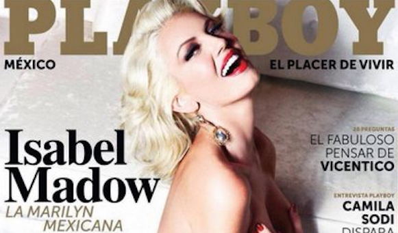 Isabel Madow en revista PlayBoy