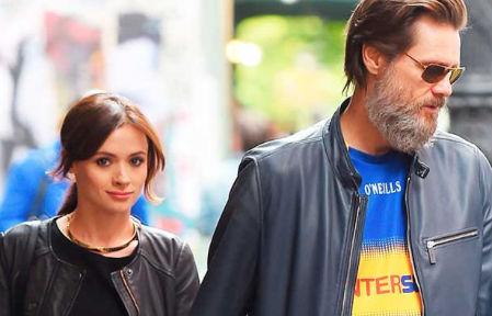 Jim Carrey y su novia