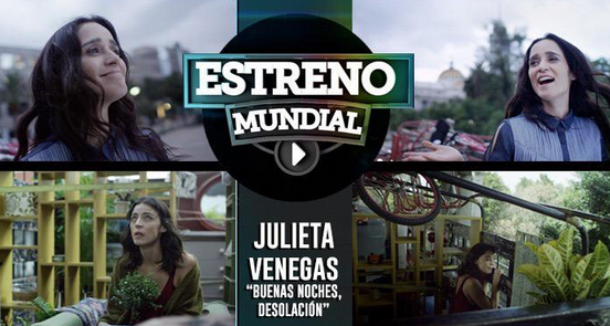 Video Buenas noches desolación de Julieta Venegas