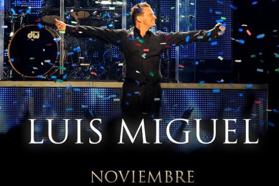 Luis Miguel en Auditorio Nacional 18, 19, 20 y 21 de noviembre