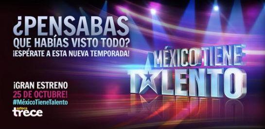Estreno de México Tiene Talento 25 de Octubre con Kalimba