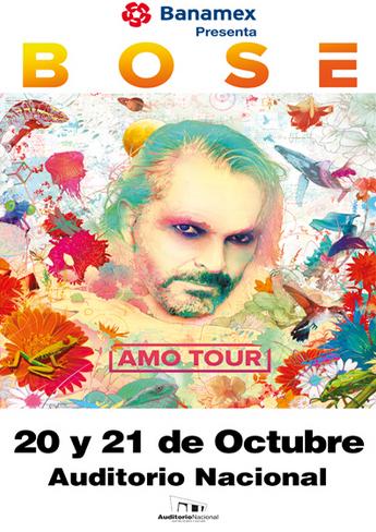 Miguel Bosé en Auditorio Nacional 20 y 21 de Octubre
