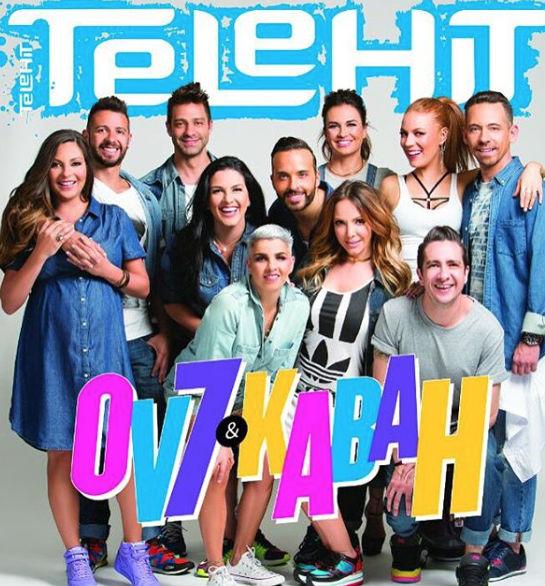 OV7 y Kabah en revista Telehit