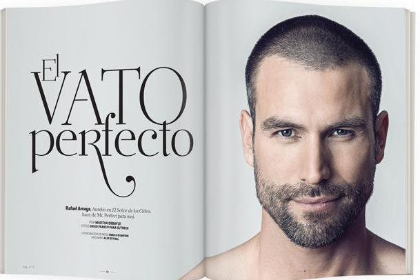 Rafael Amaya en revista Moi