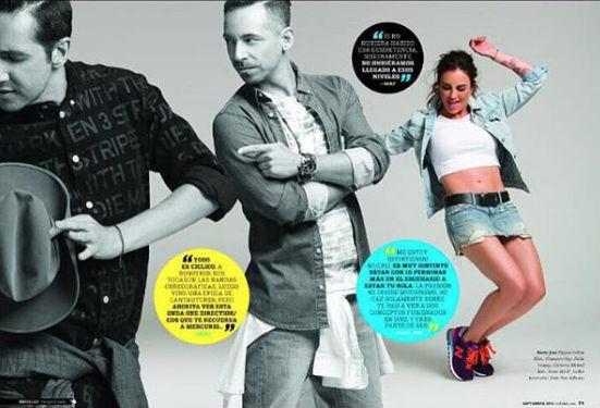 Kabah y Ov7 en revista Telehit