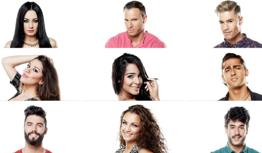 Elenco de Super Shore