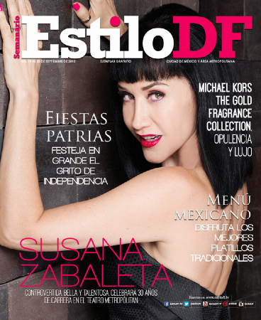Susana Zabaleta en Estilo DF