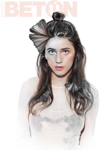 Tessa en portada de revista Betún