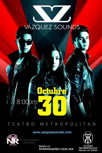 Vazquez Sounds en Teatro Metropolitan