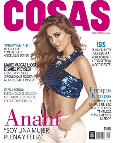 Anahí en Revista Cosas