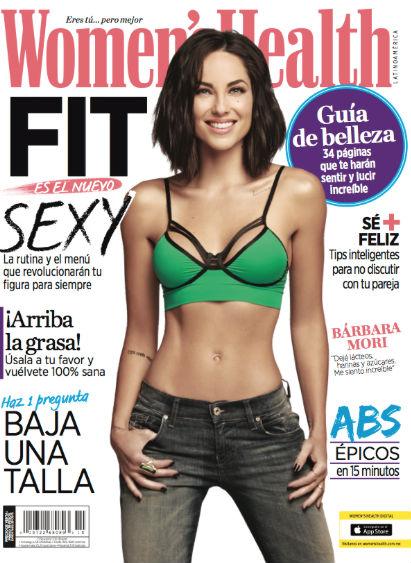 Bárbara Mori en- Womens Health