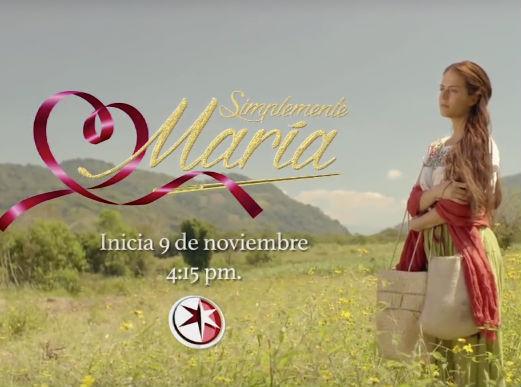 Claudia Álvarez como Simplemente María