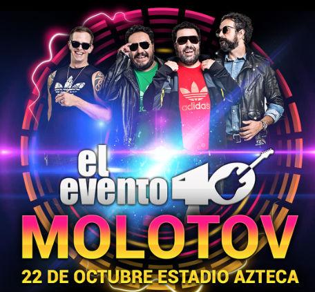 Evento 40 2015 en Estadio Azteca
