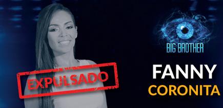 Fanny Coronita expulsada de Big Brother