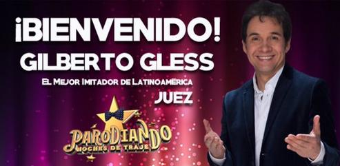 Gilberto Gless y Julio Sabala nuevo jurado en Parodiando