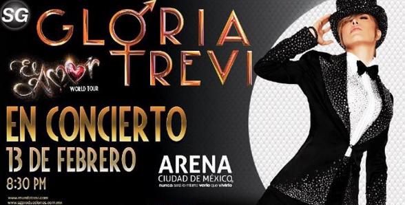 Gloria Trevi en Arena Ciudad de México
