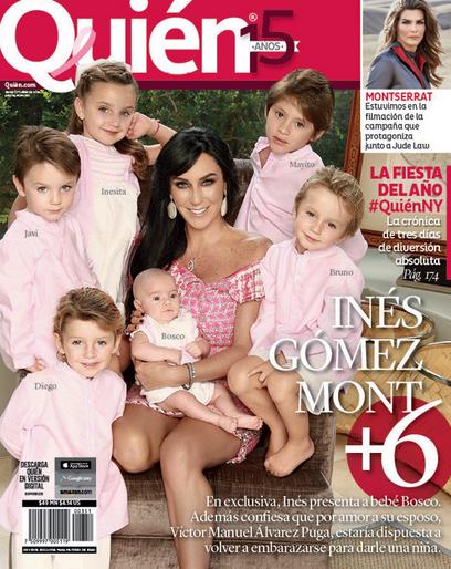 Hijos de Inés Gémez Mont en Quién
