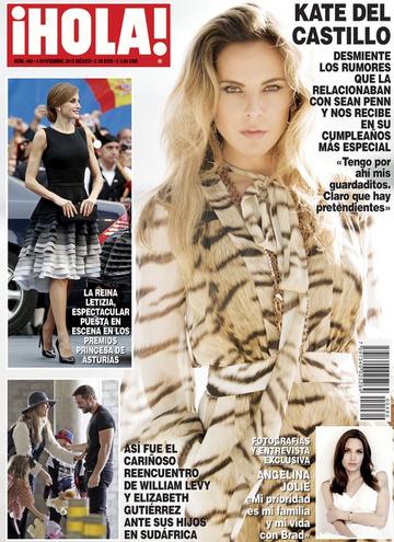 Revista Hola con Kate del Castillo