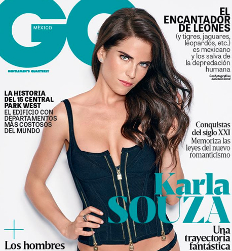 Karla Souza en revista GQ