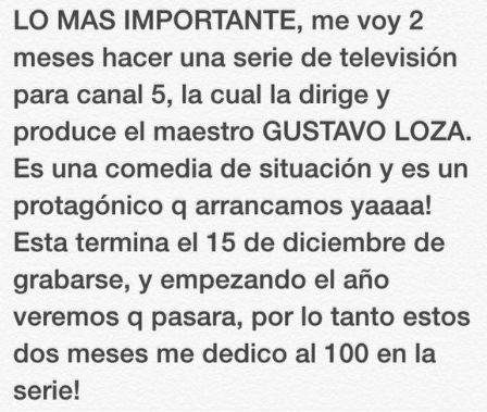 Mensaje El Burro salida de programa Hoy