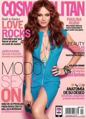Paulina Rubio en Cosmopolitan