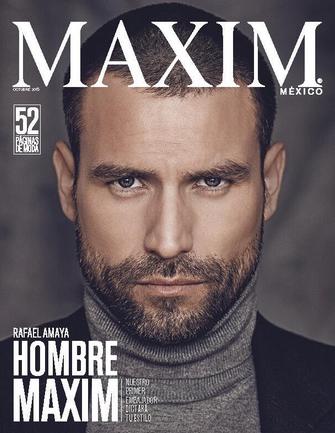Rafael Amaya en Maxim