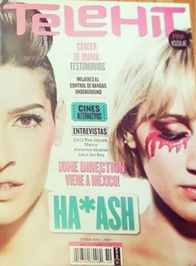 Ha-Ash en revista Telehit